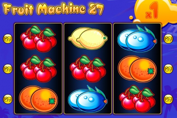 Výherní automat Fruit machine 27 u Kajot casina online
