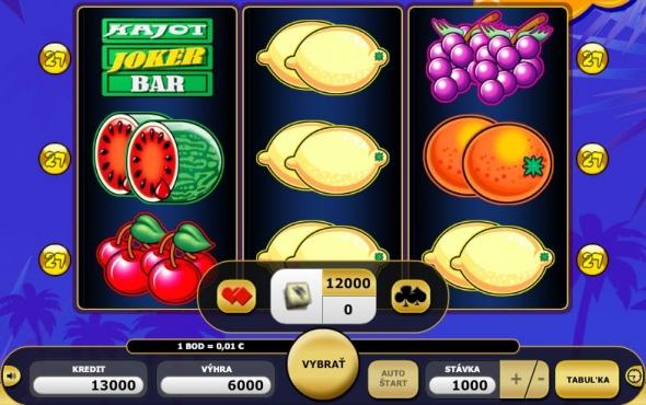 Kajot 27 Online Casino