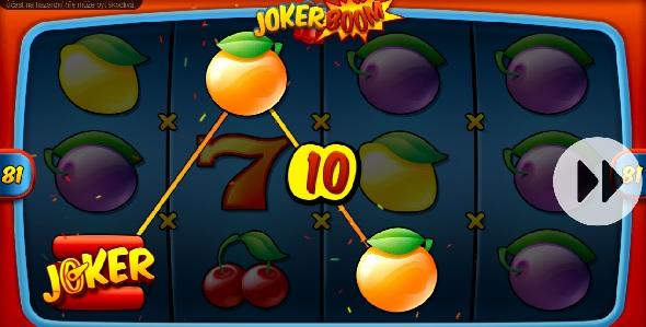 Online výherní automat Joker Boom