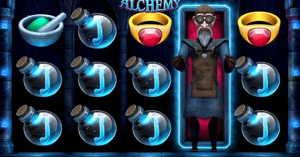 Hrací automat Alchemy